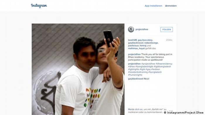 Screenshot Instagramm Project Dhee