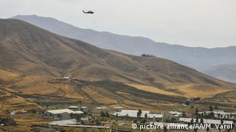 Türkei PKK Anschlag in der Hakkari Region