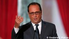 Paris Hollande PK Anti ISIS Bombardements