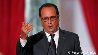 Paris Hollande PK Anti ISIS Bombardements