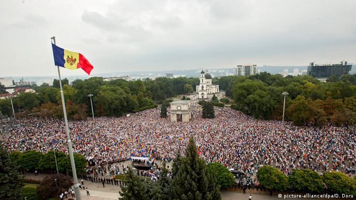 Moldova: Protestele din 6.09.2015