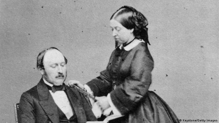 Königin Victoria I und Prinz Albert