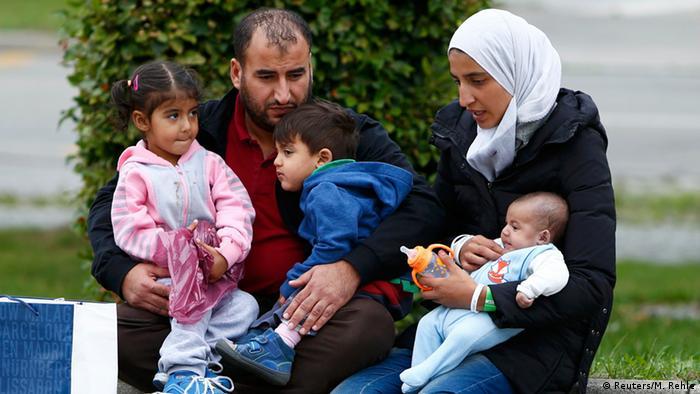 Deutschland Flüchtlinge in München