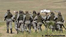 Tadschikistan Lage nach den militärischen Auseinandersetzungen