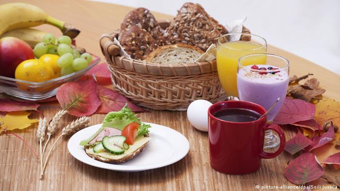 Frühstück Bildergalerie Deutschland EINSCHRÄNKUNG