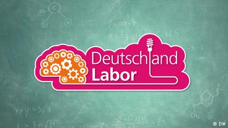 Das Logo der Serie Deutschlandlabor (DW)