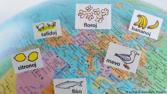 Internationale Kunstsprache Esperanto (Symbolbild)