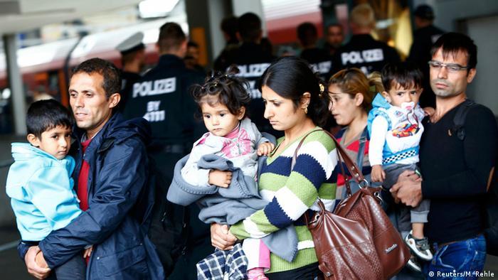 Refugjatë në Mynih