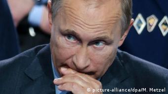 Russland Wladimir Putin in Moskau