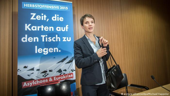 Frauke Petry Herbstoffensive AfD Berlin Deutschland