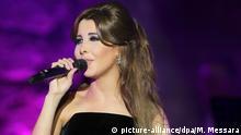 Tunesien Sängerin Nancy Ajram