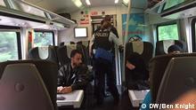 Passkontrolle im Zug Budapest nach München