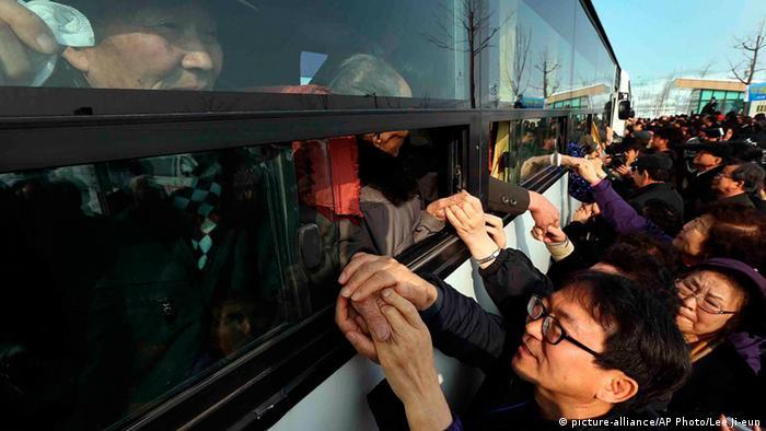 Nordkorea Südkorea Familienzusammenführung