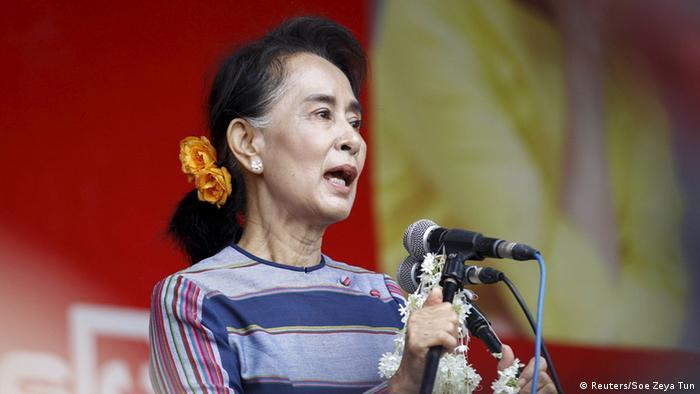 Myanmar Wahlkampf (Reuters/Soe Zeya Tun)