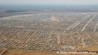 The Zaatari refugee camp in Jordan is as large as a city.