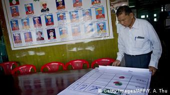 Myanmar Wahlkampf Sai Kyar Phyu
