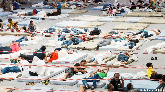 Deutschland Flüchtlinge in Deggendorf