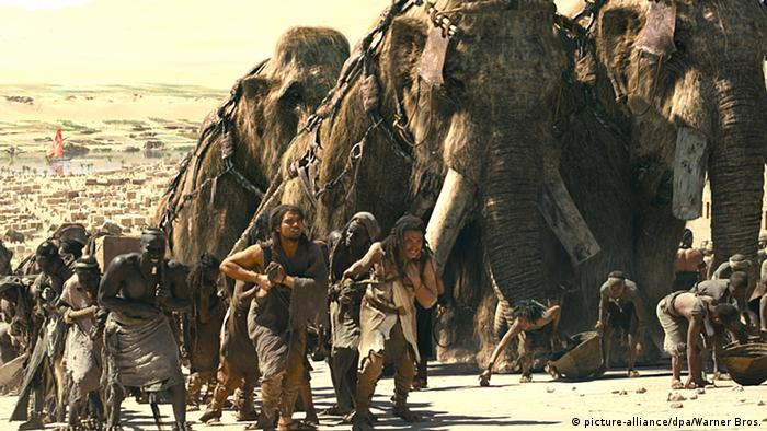 USA 10.000 BC von Roland Emmerich. Foto: picture-alliance/dpa/Warner Bros