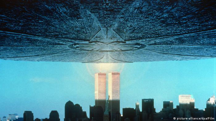Roland Emmerich Regisseur Filmszene Independence Day Science Fiction Film