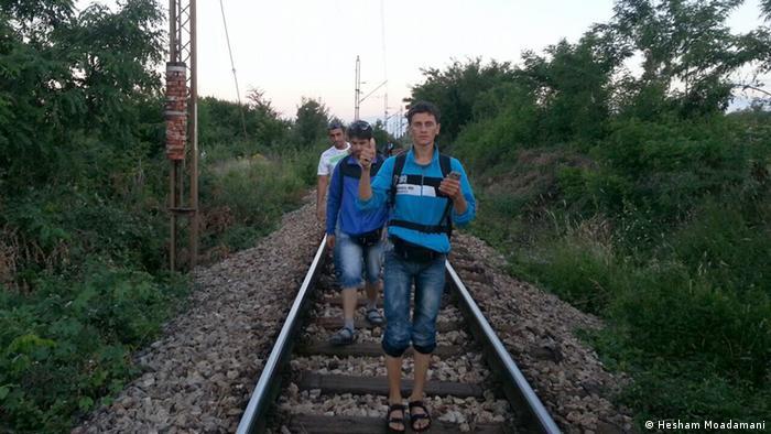 Ein Flüchtling dokumentiert seine Reise