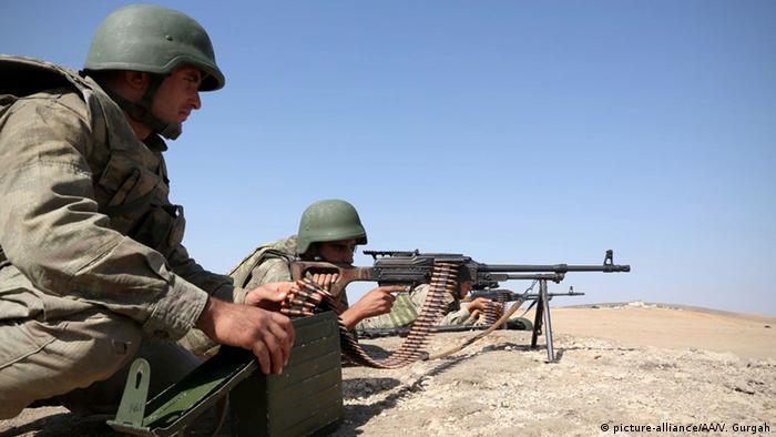 Türkei Armee Soldaten Symbolbild