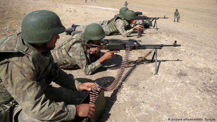 Турецькі солдати (архівне фото)