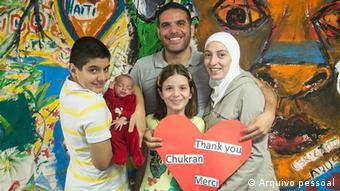 Syrische Flüchtlingsfamilie al-Tiwani in Brasilien