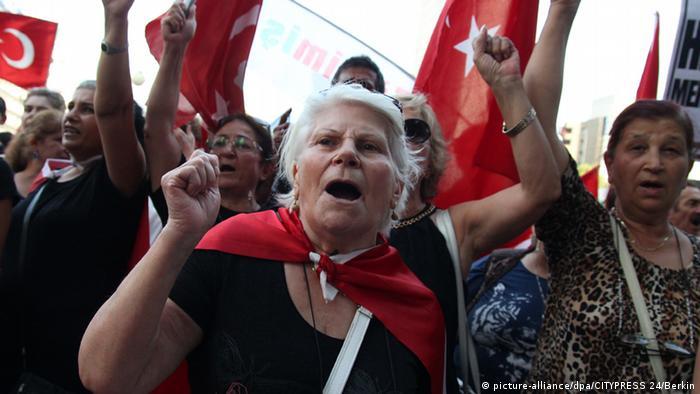 Proteste gegen den Terror der PKK in Ankara