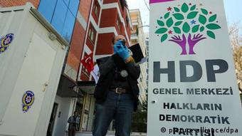 HDP headquarters in Ankara
