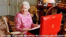 Vereinigtes Königreich Königin Elisabeth II. EINSCHRÄNKUNG