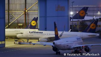 Deutschland Streik der Lufthansa-Piloten