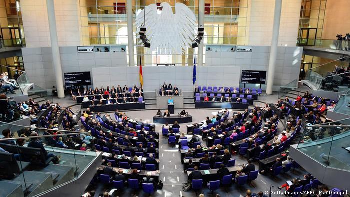 Deutschland Bundestag Bundeshaushalt Generaldebatte Angela Merkel