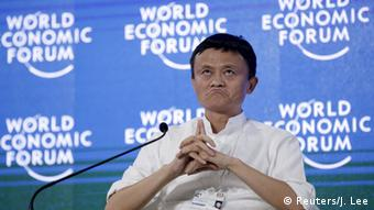 Chairman and chief executive of Alibaba Group, Jack Ma attends a session of Future-Proofing the Internet Economy at the World Economic Forum (WEF) in China's port city Dalian, September 9, 2015 (Photo: REUTERS/Jason Lee)