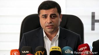 Türkei Selahattin Demirtas Pressekonferenz