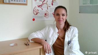 Врач из Хорватии в одной из баварских клиник
