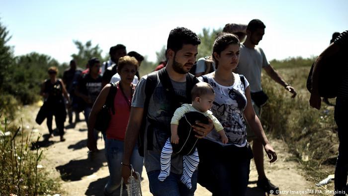 Bildergalerie Von Bagdad nach München (Getty Images/AFP/A. Messinis)