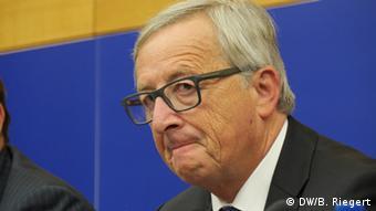 EU Juncker PK nach der Rede im Europaparlament