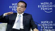 China - Premierminister Li Keqiang in Dalian