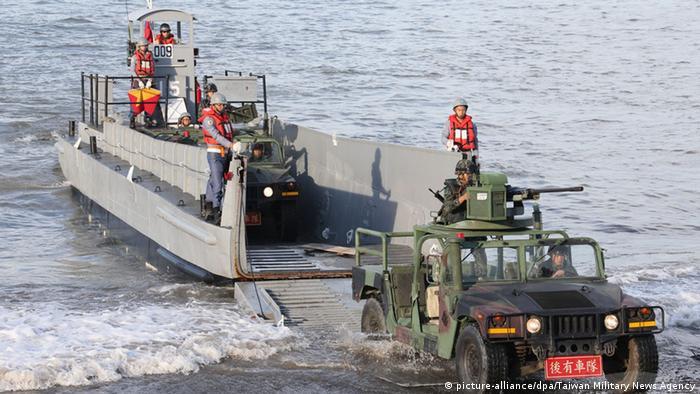 Taiwan militärische Übungen