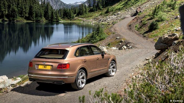 IAA 2015 Bentley Bentayga SUV