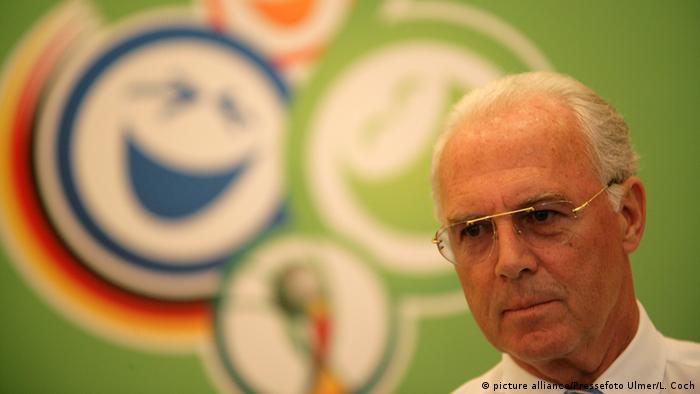 Beckenbauer sabia da transição, afirma a revista