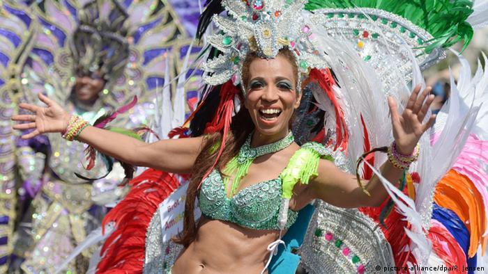 Deutschland Karneval der Kulturen - Straßenparade