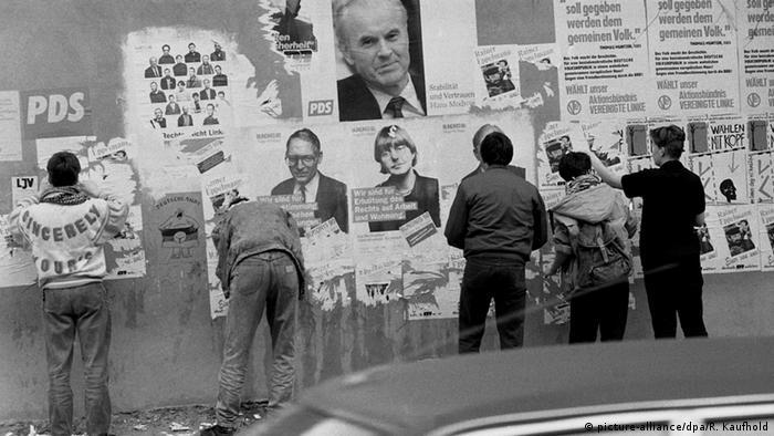 Deutschland Volkskammer Wahlen 1990 DDR