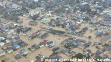 Japan Überschwemmung in Joso