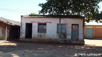 Mosambik Sozialzentrum von Maratane
