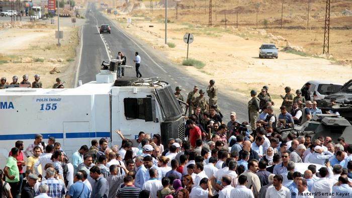Türkei Cizre HDP Kurden Konvoi Selahattin Demirtas
