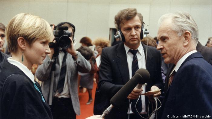 Deutschland Hans Modrow gewählter Ministerpräsident der DDR
