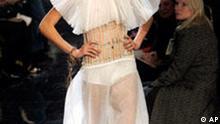 Mode Haute Couture in Paris Bildgalerie II Jean-Paul Gaultier
