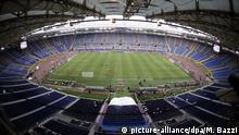 Italien Rom Olympia-Stadion