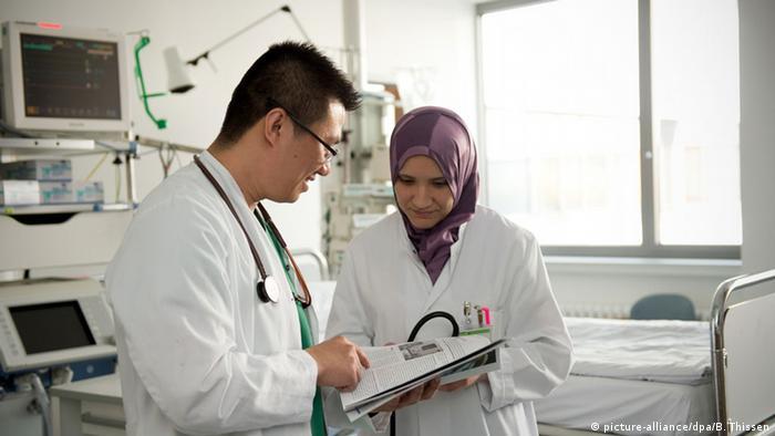 Deutschland Ärzte mit Migrationshintergrund Krankenhaus